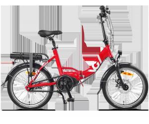 Vélo électrique pliant VG British rouge 14Ah