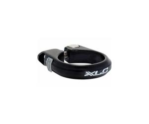 collier tige de selle XLC PC-B02Ø 34,9mm,noir,alu, avec vis hexagonale