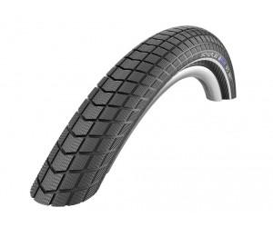 """pneu Schwalbe Big Ben HS439 RaceGuard28x2.00\"""" 50-622 noir LSkin Reflex RG EC (ref fabricant: 11100567)"""