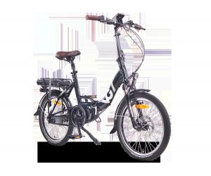 VG British Folding Electric Bike - Green (11Ah/15Ah)