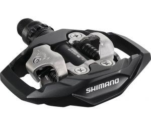 Pédales SPD Shimano VTT PD-M 530 Fixation 2 faces Noir