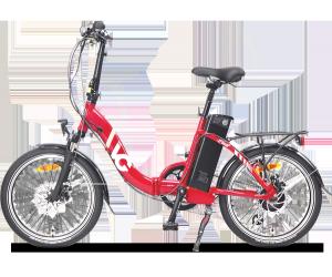 VG LAVIL Folding Electric Bike - Red (11/15Ah)