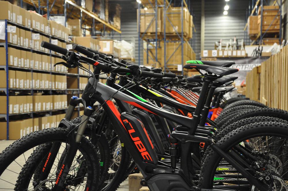 Notre Plateforme logistique spécialisé en vélo electrique